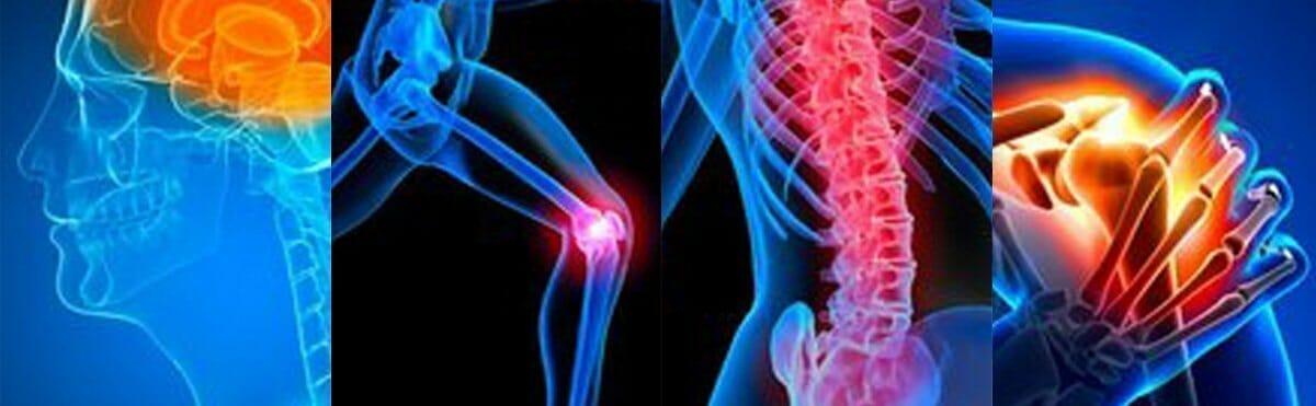 pain spots in the body
