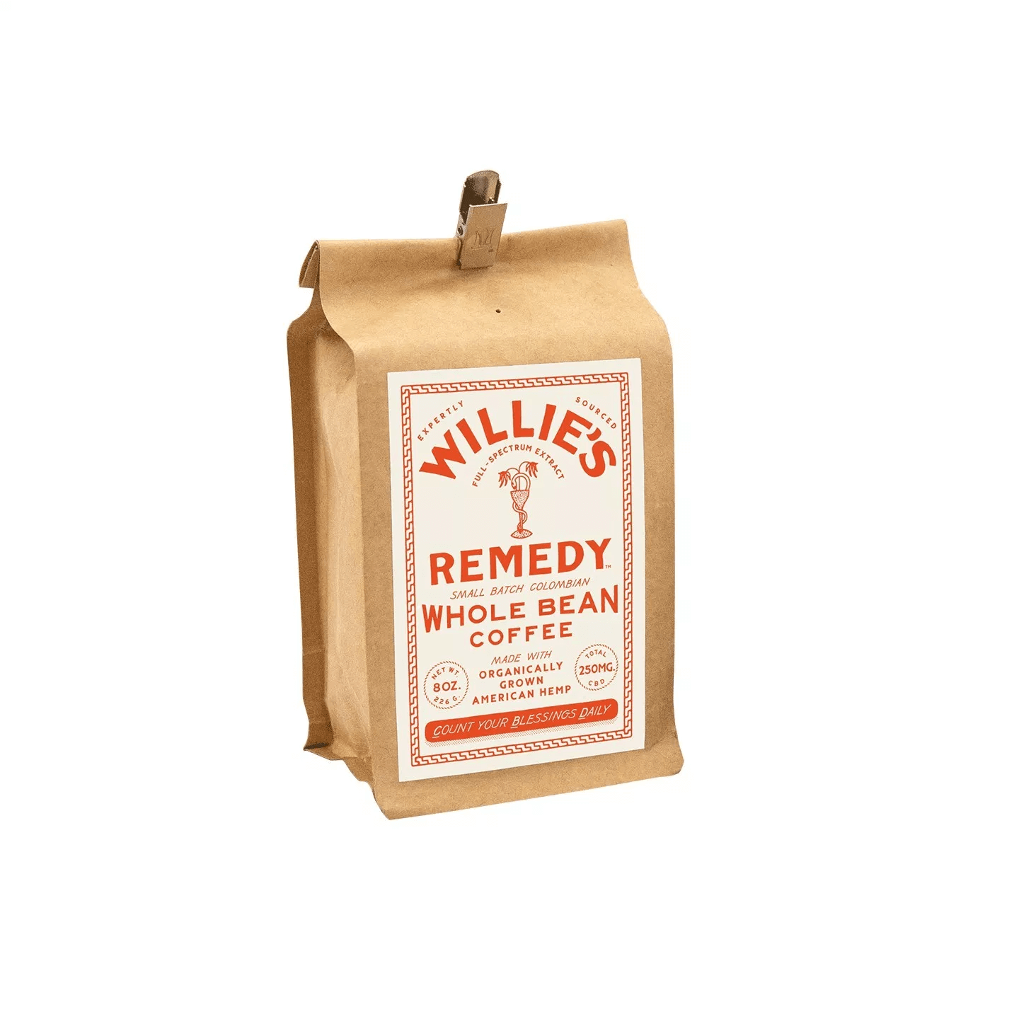 Willie's Remedy Whole Bean Coffee